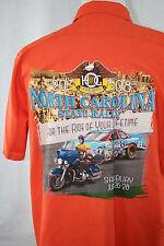 HARLEY DAVIDSON SHOP SHIRT HOG Rally NC North Carolina RICHARD PETTY NASCAR XL