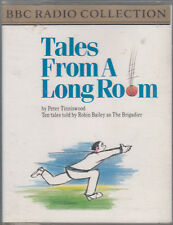 Peter Tinniswood Tales From A Long Room 2 Cassette Audio Book Cricket Humour