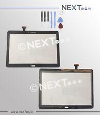 TOUCH SCREEN PER SCHERMO SAMSUNG GALAXY Note 10.1 2014 SM-P600 P605 NERO + kit