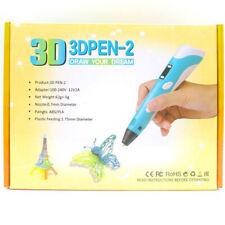 3D Printing Pen Drawing Doodle Crafting Modeling Filament Art Printer & Filament