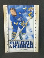 2019-20 Upper Deck Non Auto Tim Horton's Rare Hockey Card #BW-1 Buffalo Sabres
