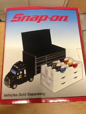Snap On Tools Collectable Top Box Truck holds 18 1:64 Scale cars 2007