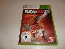 XBox 360  NBA 2K12