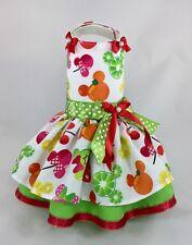 Dog Dress Easter Spring summer Disney Minnie Mickey Fruits xxs XS Small Med