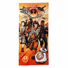 New with Tags Disney Star Wars The Force Awakens Beach Towel Below $29.99 Retail