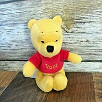 "Disney World Parks Winnie The Pooh 4"" Mini Plush Magnetic Stuffed Toy Magnet Hug"