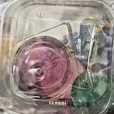 Murano Italian Glass - Small Violet Bottle - New Blister Box Fabbri