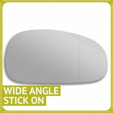 Right hand Driver side for Seat Leon mk2 05-09 wing mirror glass Wide Angle
