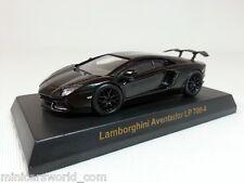 1:64 Lamborghini Aventador LP700-4 Tuning Dragon Wheels+Wing Dealer SE Black SV