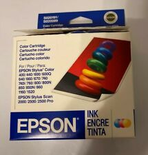 Epson OEM Color- S020191 S02089 Ink Cartridge for Stylus 760 860 740 EXP 09/2006