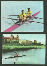 Rowing Boating Fab Card Collection