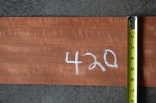 MAKORE VENEER,  98 SQ. FT., LOT 420
