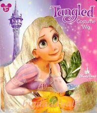 New Disney Parks Tangled Rapunzel Costume Wig Long Hair Braid Dress Up Cosplay