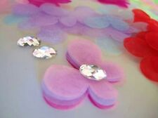 """80 Mix Tulle Organza Butterfly 1.75"""" Applique/Tutu/Craft/Trim/Sewing/bow H381"""