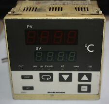 Shimaden SR63 SR63-211-90-03410 Temperature Controller Analogue Output RTD vers