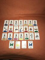 Monopoly Board Game Junior 2001 Game Spares Full set of 25 Chance cards