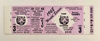 1968 World Series Detroit Tigers GM 3 Full Ticket - Proof - Tiger Stadium