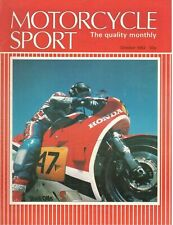 1983 OCTOBER 31158  Motorcycle Sport Magazine Cover Picture  OCTOBER 1983