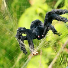 Spider Halloween Decor Haunted House Prop Indoor Outdoor Black Giant 30cm Toy