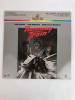 Runaway Train - Laser Disc -Jon Voight, Eric Roberts and Rebecca DeMornay