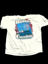White Radio Caroline Xxl Tee Shirt Perfect Festival Retro K