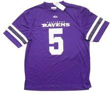 NFL Baltimore Ravens Flacco 5 men's jersey shirt sz XL NEW!