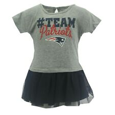 New England Patriots Official Nfl Apparel Baby Infant Girls Size Dress New Tags