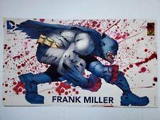 RARE POSTER FRANK MILLER BATMAN COVER COMIC PROMO DARK KNIGHT MASTER RACE DK3