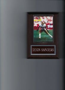 DEION SANDERS PLAQUE WASHINGTON REDSKINS FOOTBALL NFL