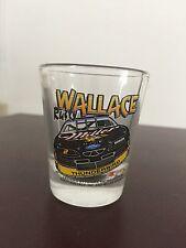 RUSTY WALLACE SHOT GLASS NASCAR HUNTER MADE IN USA