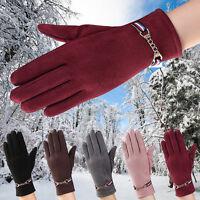 Womens Ladies Fashion Winter Warm Gloves Outdoor Sports Ski Mittens Party Gloves