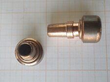 2 électrodes de soudage par résistance,point rotule SCHRUB diamètre 22 mm