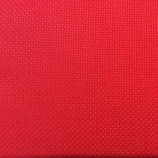 Toile Aïda 5,5 Point 14CT Broderie Point de croix Couleur Rouge Taille 100x80cm