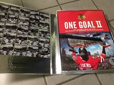 One Goal Achieved II / 2 Chicago Blackhawks Perfect Condition NEVER TOUCHED RARE