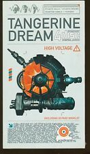 TANGERINE DREAM  High Voltage  4 CD's : 44 titres (COFFRET NEUF)