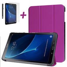 """Fino Funda para Samsung Galaxy Tab A 10.1"""" T580 Tableta con Cristal Templado"""