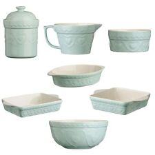 Sweet Heart Green Stoneware Baking Dish/Ramekin/Jug/Bowl/Storage Canister