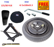 Space Saver Spare Tyre & Wheel with full package for VOLVO XC60 (2008-2019)