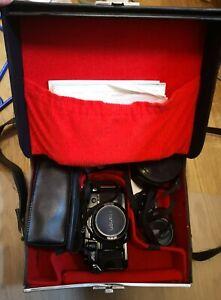 Canon A-1 mit 2 Objektiven und weiterem Zubehör - wie neu!