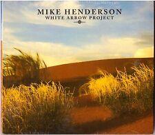 MIKE Henderson Blanco ARROW Proyecto CD Guitarra Acústica W/ djam karet Guys