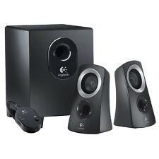 Logitech 50 Watts Computer Speaker System with Subwoofer | Black