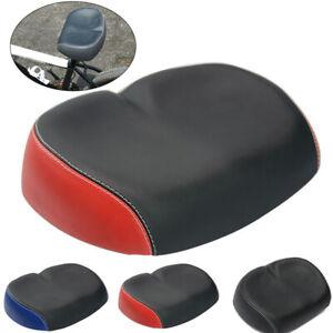 Elastic Soft Bicycle Cycle Mountain Bike MTB Saddle Wide Big Seat Pad Cushion