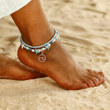 Anklets Women Barefoot Pearls Beading Luxury Beach Foot Chain Wedding Bracelet