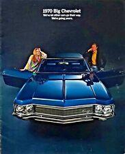 1970 Chevrolet Caprice, Impala, & Bel Air Brochure