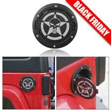 Fuel Filler Door Cover Gas Cap For Jeep Wrangler JK Unlimited 2007+ Accessories