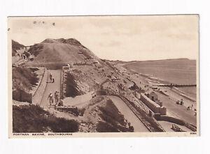 Printed Postcard Portman Ravine Southbourne