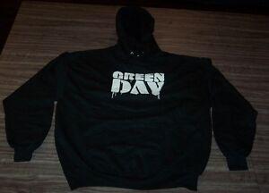 GREEN DAY HOODIE HOODED Sweatshirt PUNK BAND MENS XL NEW