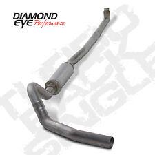 "Diamond Eye 4"" 409SS Down Pipe Back Exhaust System 01-07 Chevy & GMC 6.6L Diesel"