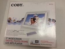 """Coby 7"""" Widescreen Digital Photo Frame with MP3 Player DP-772"""