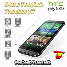 Cristal templado para HTC ONE M9 calidad de rigidez 9H grosor 3.0 borde 2.5D